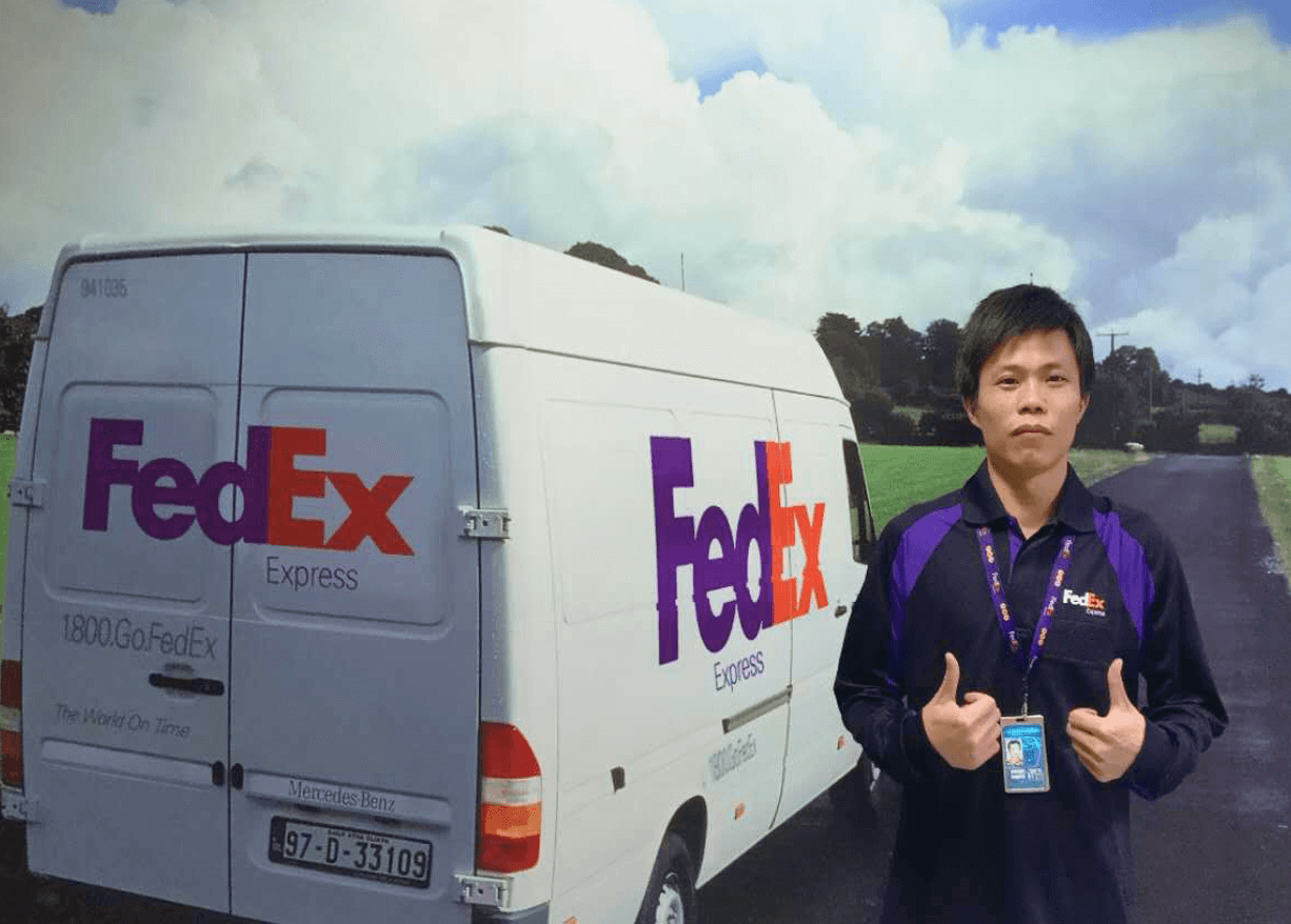 'It's an honor to be part of Team FedEx, helping to contribute to society by delivering for good!