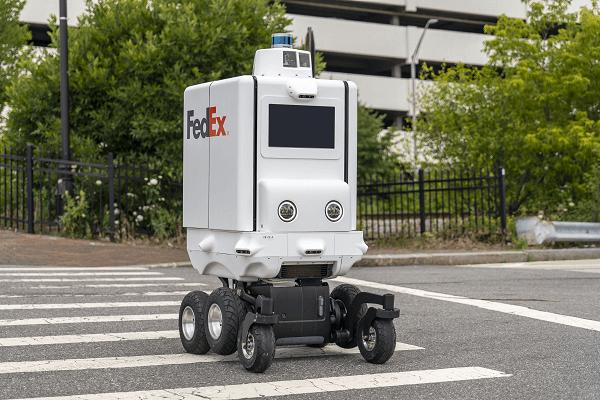 Fedex Roxo robot