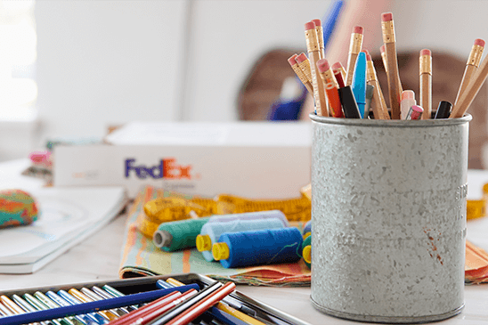 Pencils, Fedex, Re energize your business with a startup spirit