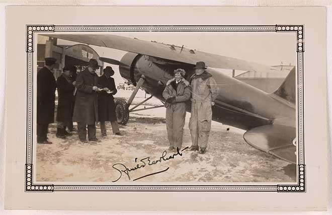 Search For Amelia Earhart, Los Angeles to Hawaii