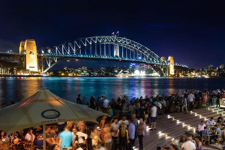 Sydney harbour bridge - SME in Australia are going offshore