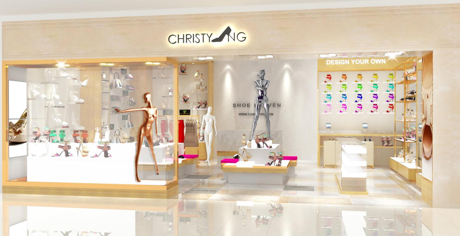 Chirsty NG Shop Front - Selling Shoes Through Social Commerce